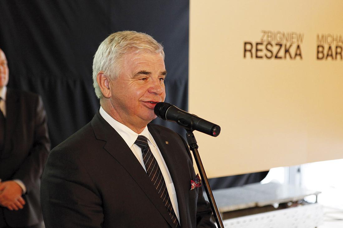 Andrzej Ptak, przewodniczący Stowarzyszenia Producentów Cementu