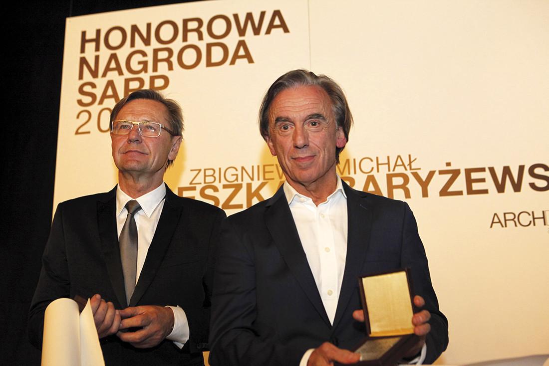 Laureaci Nagrody Honorowej SARP 2013 – Zbigniew Reszka i Michał Baryżewski