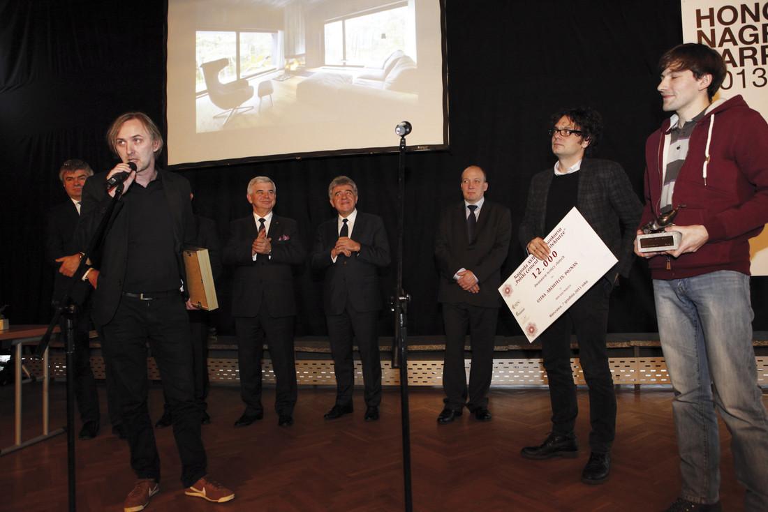 Architekci z pracowni Ultra Architects z Poznania otrzymali nagrodę za Dom nad morzem