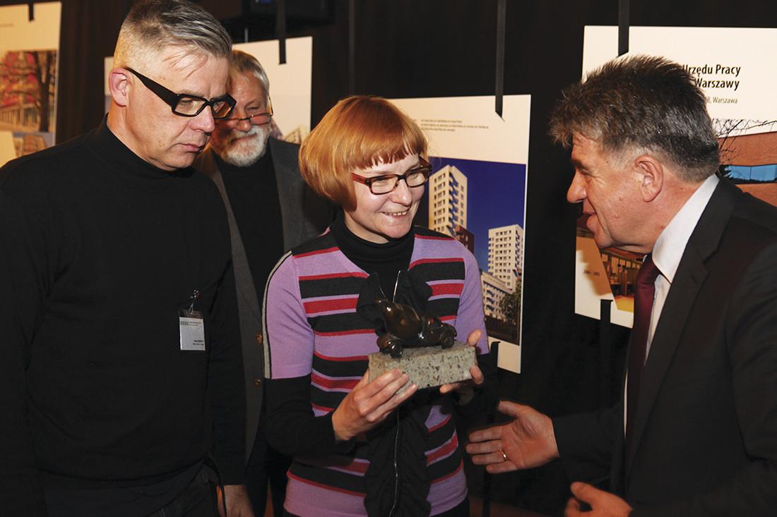 Na wyróżnienie zasłużył projekt przebudowy amfiteatru w Opolu wykonany przez Biuro 87a