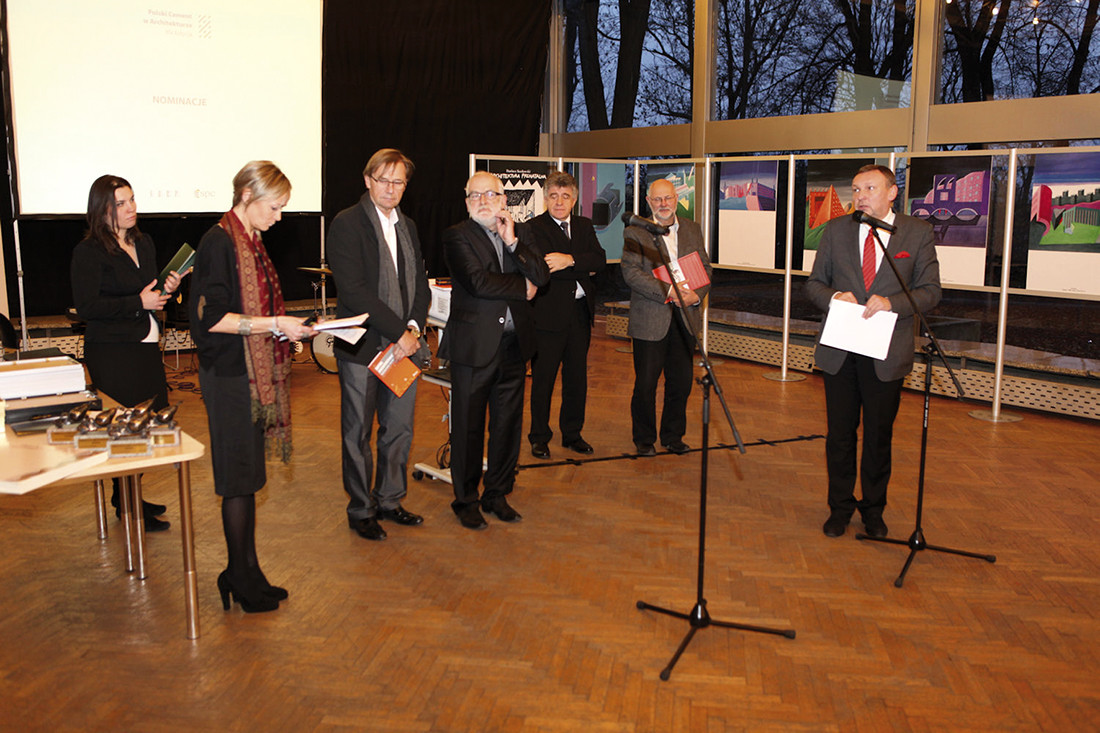 Jury XV edycji konkursu: arch. Krzysztof Bojanowski, prof. Jan Deja, arch. Jacek Lenart, arch. Zbigniew Reszka