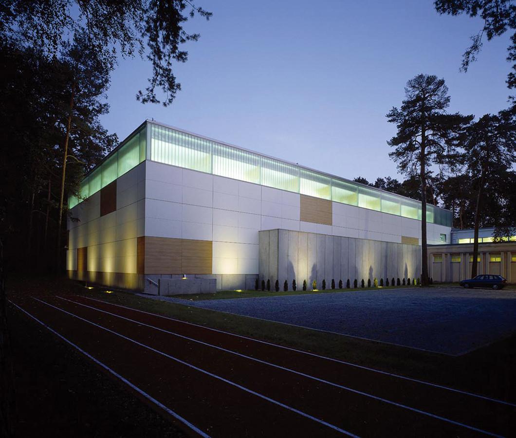 Projekt sali sportowej wraz z modernizacją Zespołu Szkół nr 2 przy ul. Żeromskiego 15 w Konstancinie Jeziornej