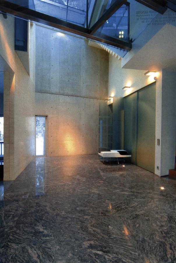 Dom jednorodzinny w Konstancinie-Jeziornie