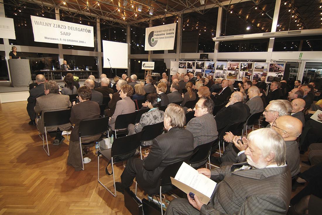 Uroczystość zgromadziła kilkuset przedstawicieli świata architektury i budownictwa z całego kraju