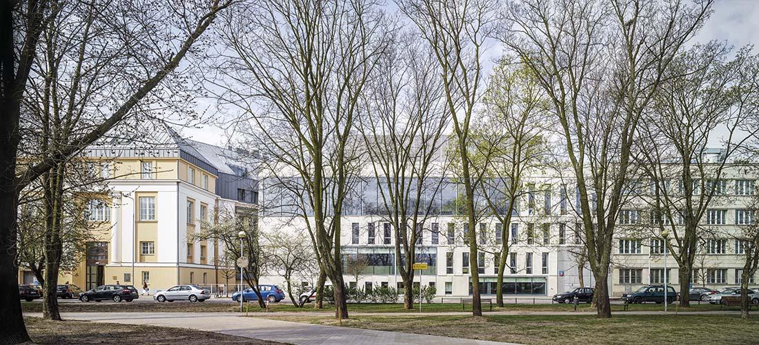 Budynek ASP wWarszawie