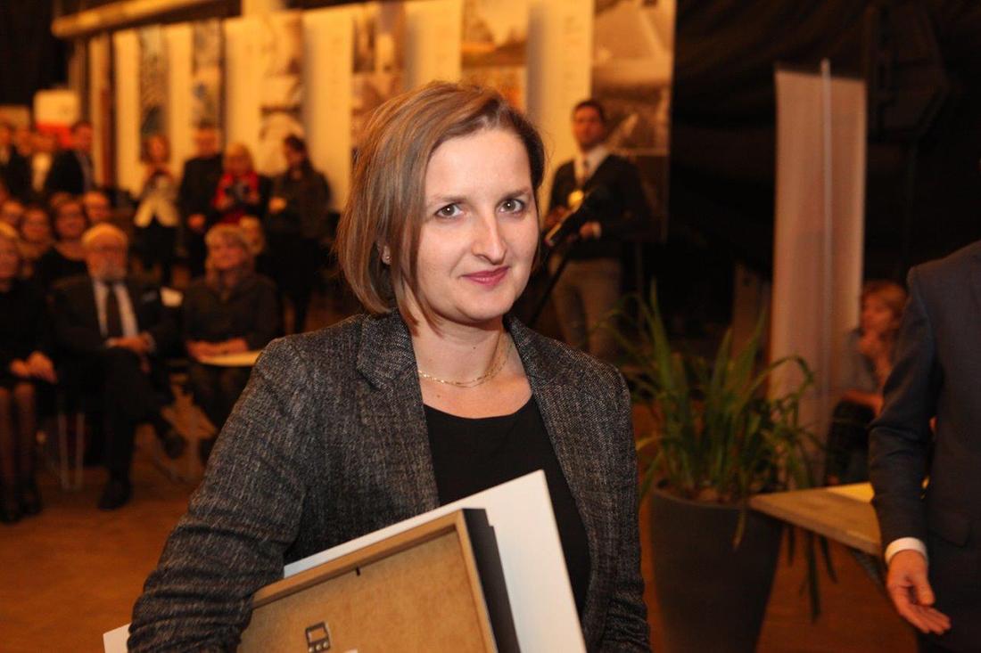 """Iwona Wilczek - współautorka projektu """"Dom pod Opolem"""""""