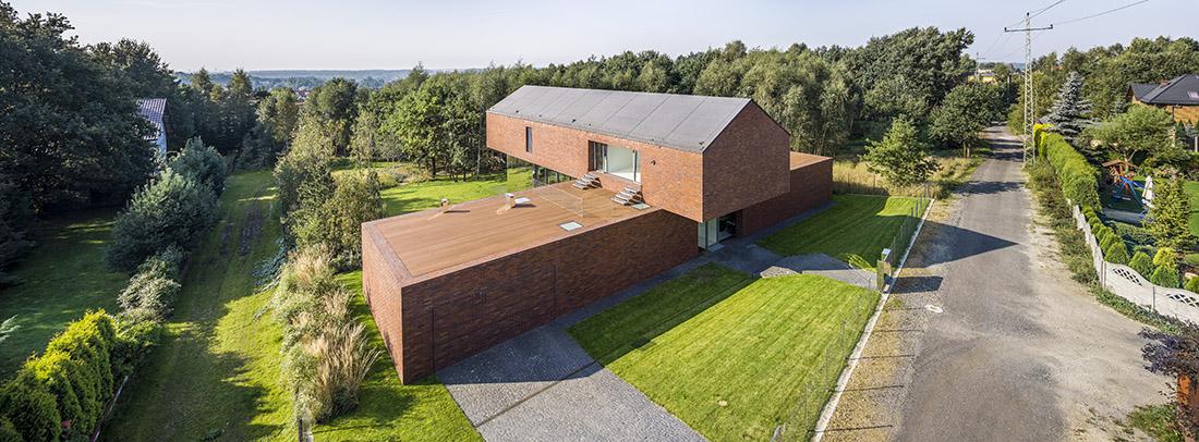 Living garden house w Katowicach