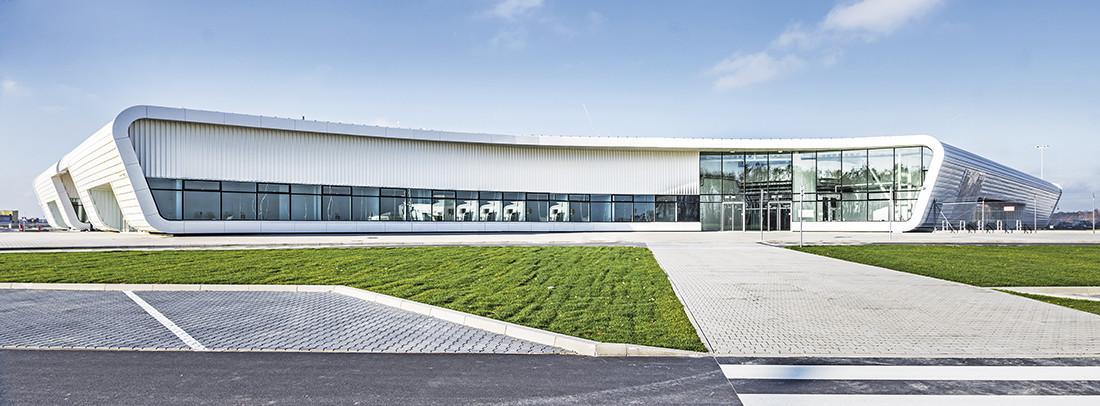 Terminal portu lotniczego w Świdniku pod Lublinem
