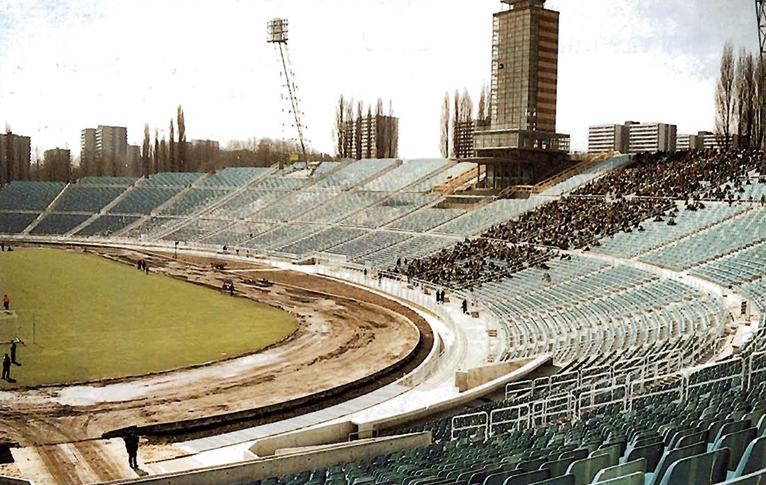 Stadion Śląski – widownia wschodnia
