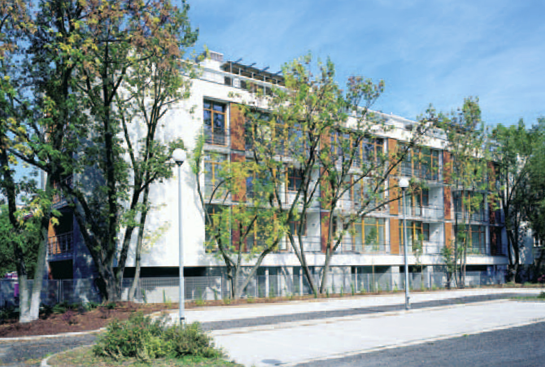 Budynek mieszkalny, Warszawa ul. Fałata 15