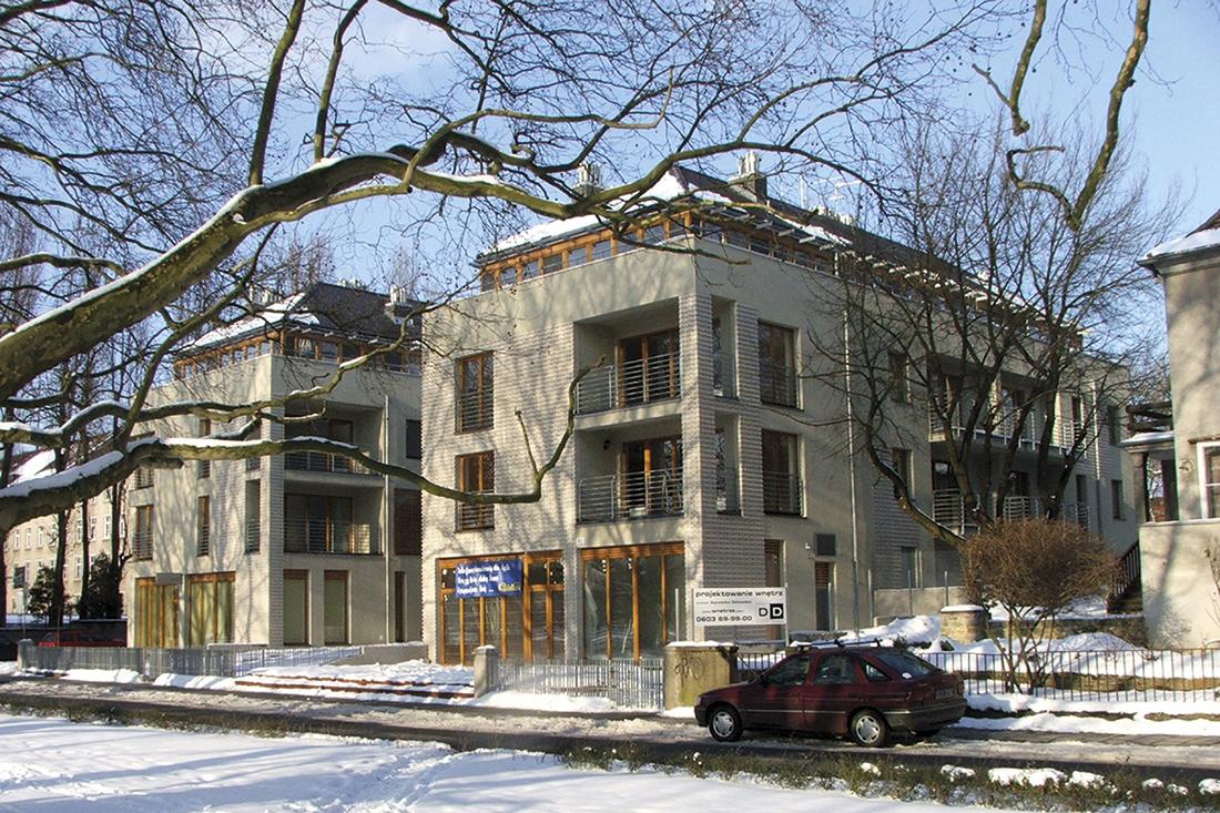 Budynek mieszkalny przy ul.Tuwima w Szczecinie