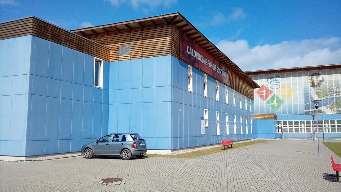 Pawilon dydaktyczny zespołu budynków szkolnych w Mrzeżynie