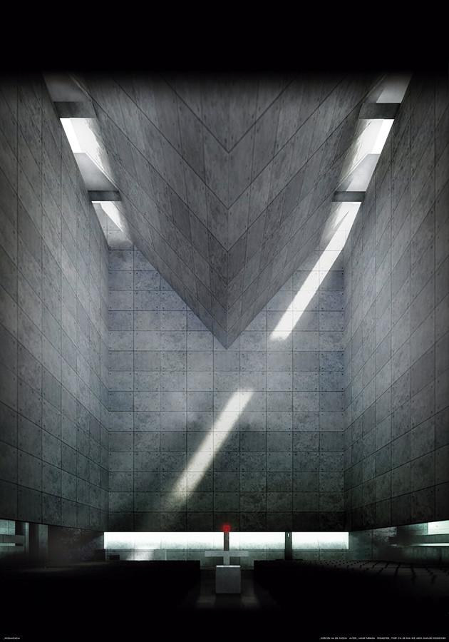 Kościół na os. Ruczaj w Krakowie – arch. Jakub Turbasa