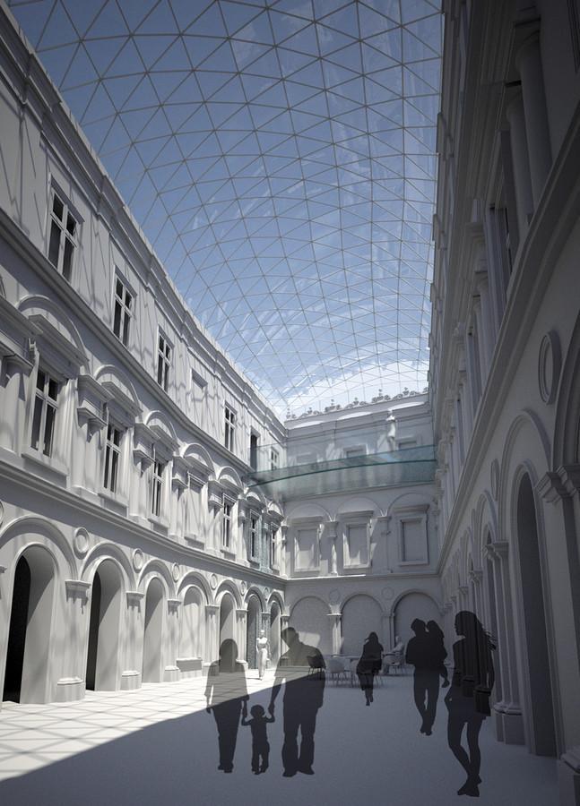 Przebudowa Muzeum Książąt Czartoryskich, Kraków