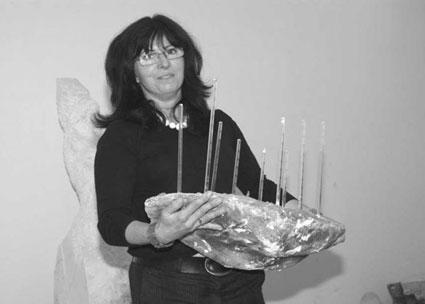 Małgorzata Białek – rzeźbiarka Edynburg, Szkocja