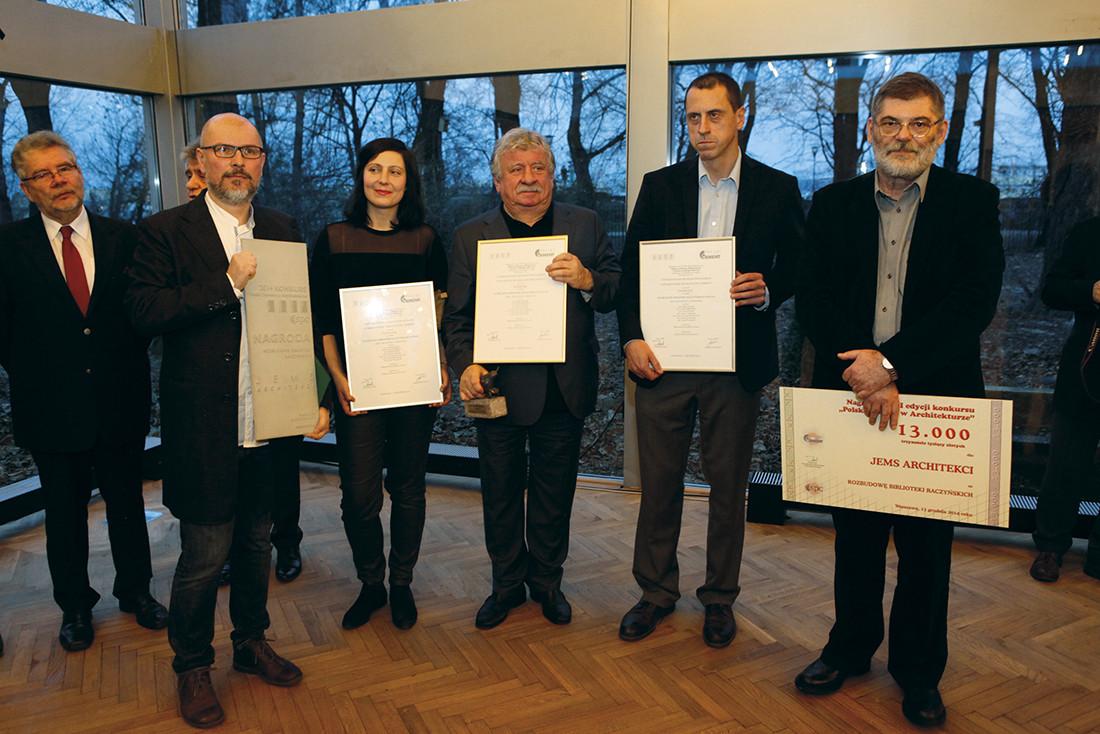 Jems Architekci – zdobywcy nagrody za rozbudowę Biblioteki Raczyńskich