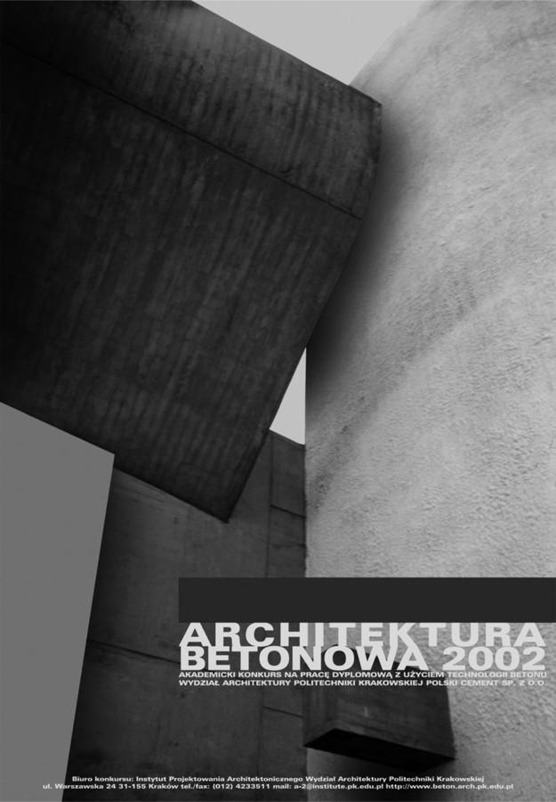 PLAKATA4-ARCHITEKTURA BETONOWA 2002