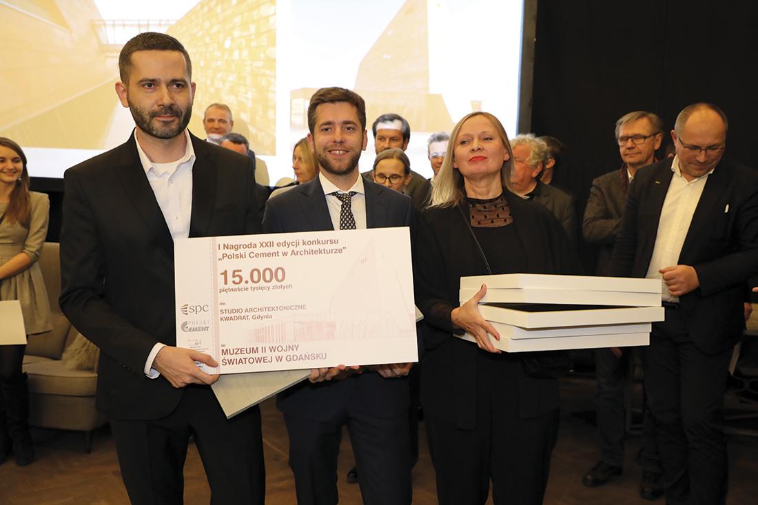 Pierwszą nagrodę wkonkursie otrzymało Studio Architektoniczne Kwadrat zGdyni