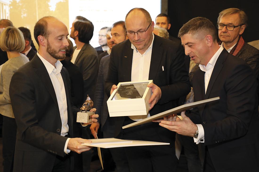 Wyróżnienie dla BE DDJM Architekci zKrakowa za Office Inspiration Centre wKrakowie