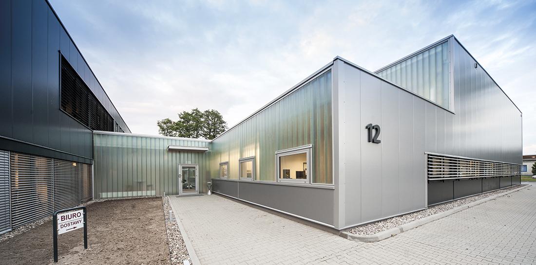Budynek produkcyjno-biurowy firmy WENGLON wDobrej Szczecińskiej