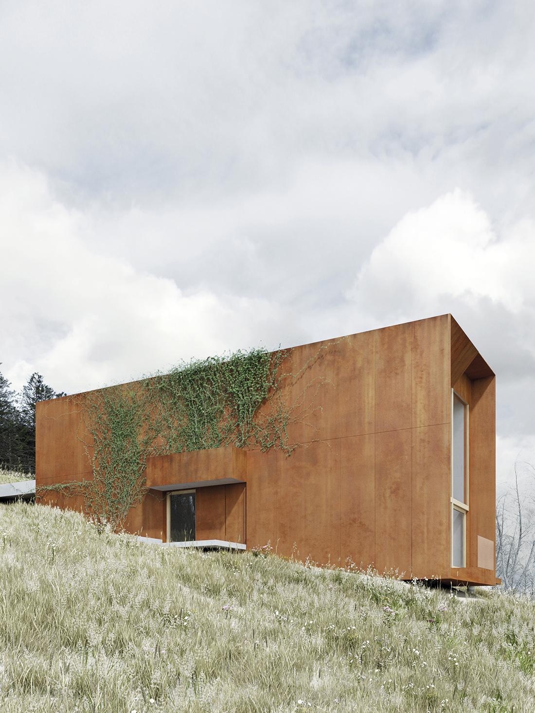 Dom na Bergach