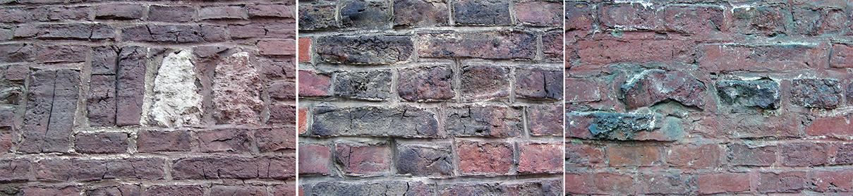 Fragmenty muru elewacji Talowskiego (krakowskie kamienice: ul. Retoryka 1, ul. Karmelicka 34)