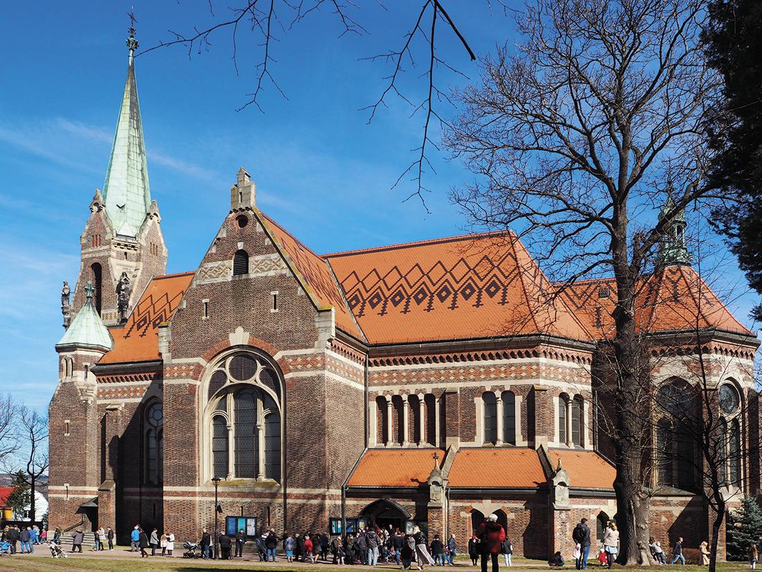 Kościół wSuchej Beskidzkiej - elewacja wschodnia