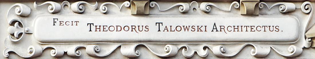 Wizytówka Talowskiego