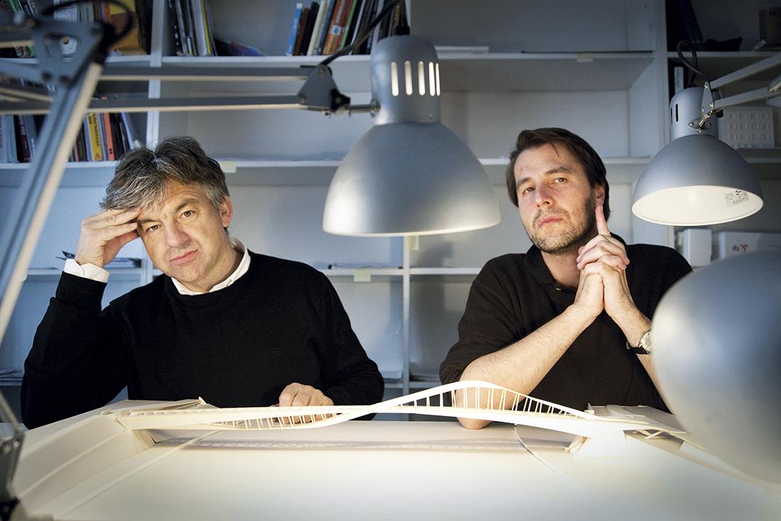 Od prawej: Piotr Lewicki i Kazimierz Latak