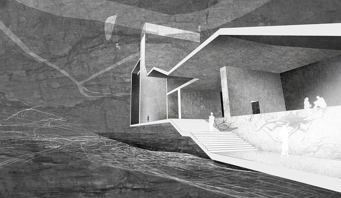 Wyróżnienie: arch. DAGMARA ROMANIAK. Tytuł pracy: Storytelling: Concrete Corridor. Projekt Korytarza Wielokulturowego w Kapsztadzie jako przykład postrzegania wielokulturowości drogą dialogu architektonicznego