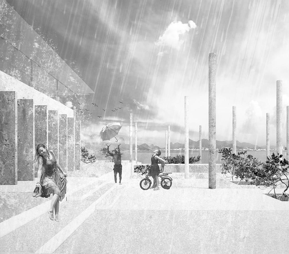 Nominacja: arch. PATRYCJA JĘDRA. Tytuł pracy: Współczesna agora jako pole architektonicznej debaty: Athenaeum, Rio de Janeiro