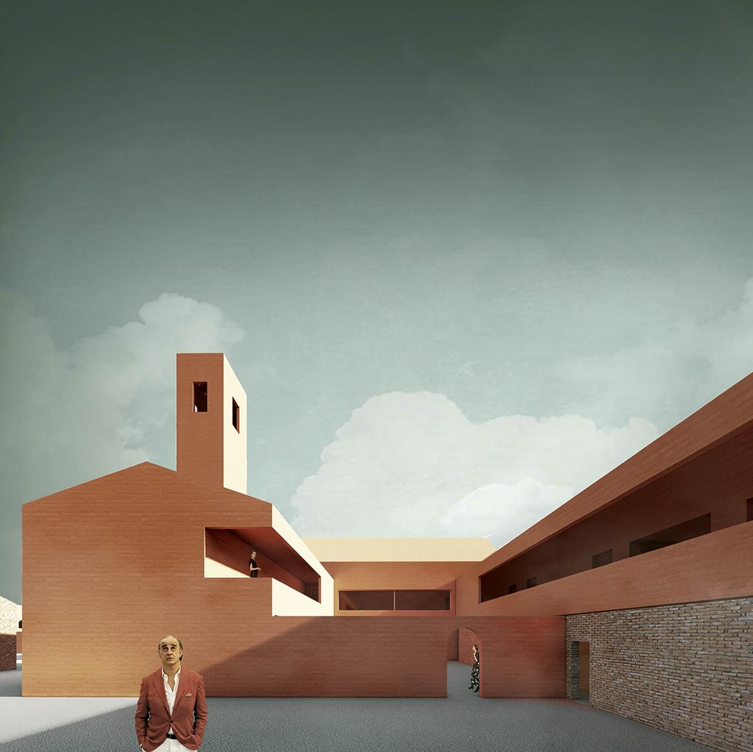 Nagroda: arch. SZYMON CIUPIŃSKI. Tytuł pracy: Lazzaretto Vecchio – wyspa kina na Lagunie Weneckiej