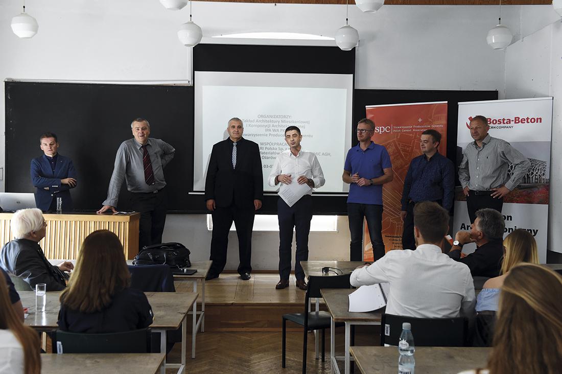 Rozpoczęcie Warsztatów Betonowych 2016 wKrakowie