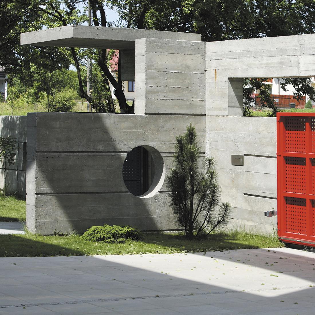 Casa Olajossy ossia Villa in fortezza, dom jednorodzinny wLublinie – projekt Dariusza Kozłowskiego iTomasza Kozłowskiego