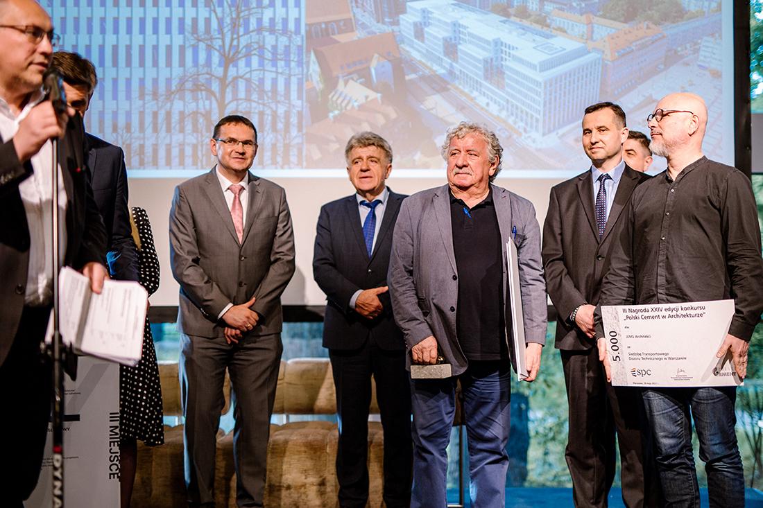 JEMS Architekci zostali nagrodzeni za siedzibę Transportowego Dozoru Technicznego wWarszawie